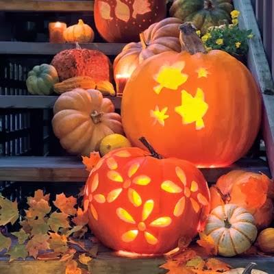 jack-o-lanterns-l casa tres chic halloween