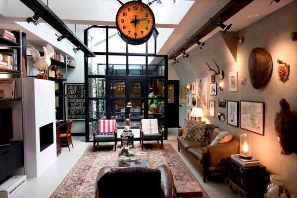 loft industrial vintage and chic blog....