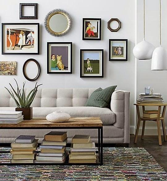 arranjos de parede apartment therapy