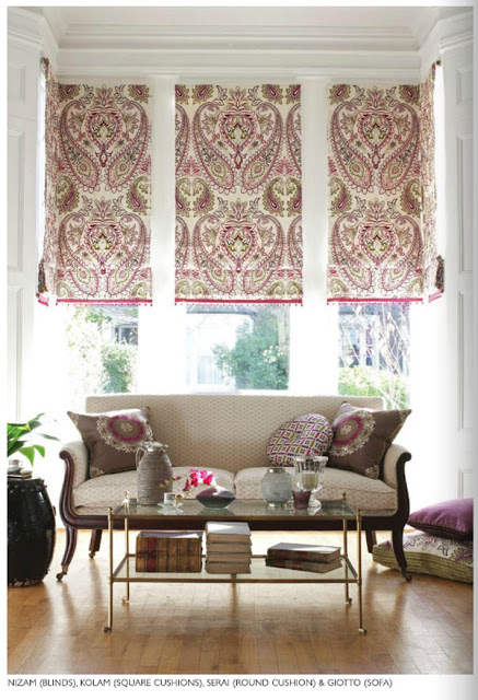 vintage and chic cortinas