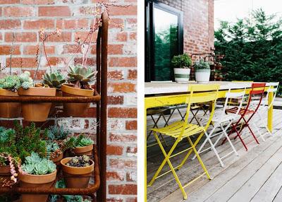 12 plantas y comedor exterior decoratualma loft industrial