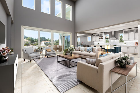 Serenity Point living room