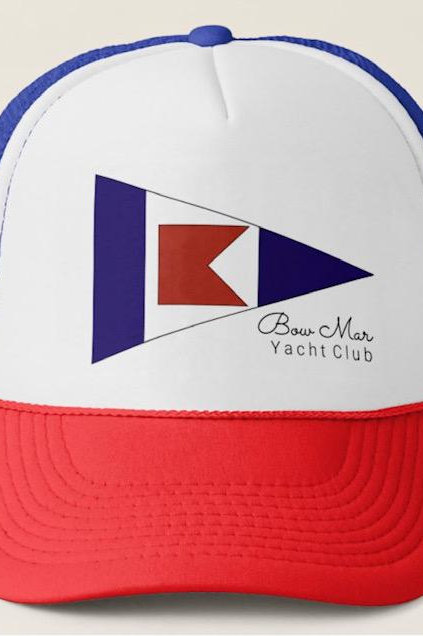 Bow Mar Jr. Sailing Trucker Hat
