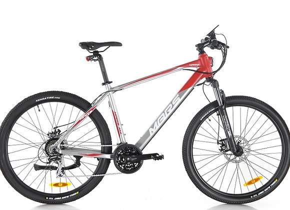 Apollo MARS (TITANIUM SILVER) 48 MTB City Hybrid Ebike. LTA Approved PAB 189-sp