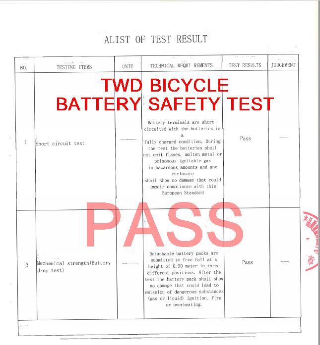 EN battery test