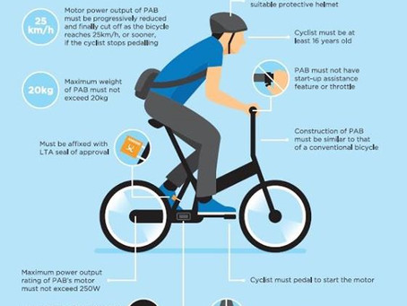 What is Power Assisted Bicycle (Pedelec) requirements in Singapore