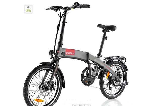 """PREORDER SPECIAL for SMART1S PLUS (CHARCOAL GREY) 35-speed 20"""" Foldable"""