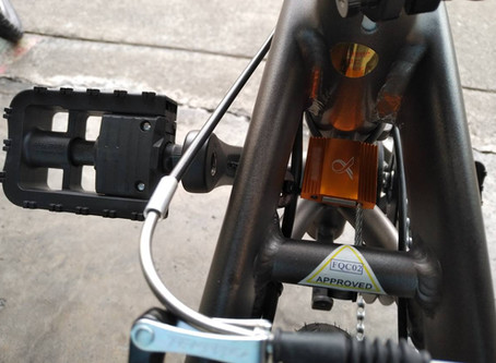 How to tell ebike is LTA approved and registered?