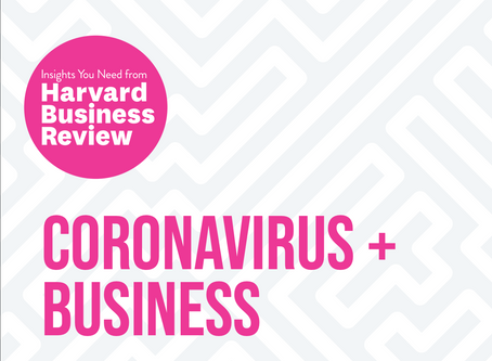 Coronavirus And Business from Harvard Business Review