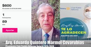 Invitación del Presidente Club Rotarios Puebla Reforma