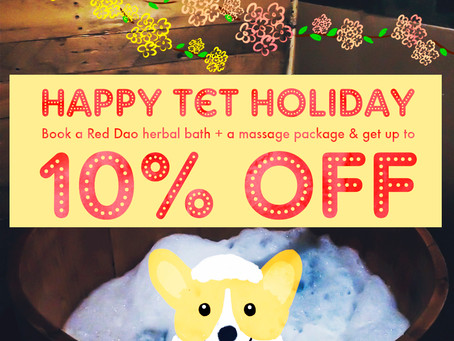 Happy Tết Holiday With 10% Off