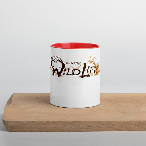 Hunting Wildlife Mug with Color Inside