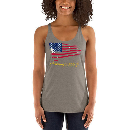 American Women's Racerback Tank