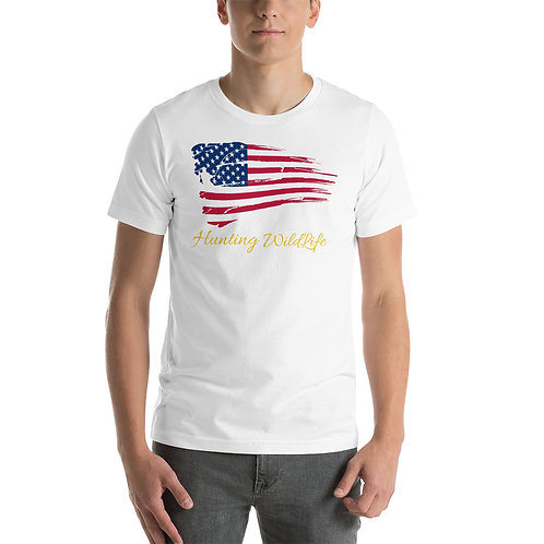 American Short-Sleeve  T-Shirt