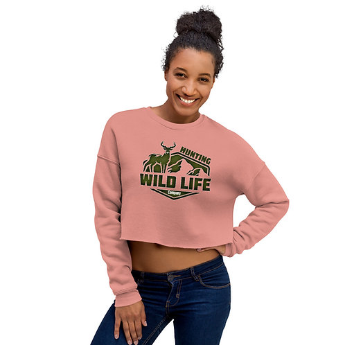 Crop Sweatshirt wildlife