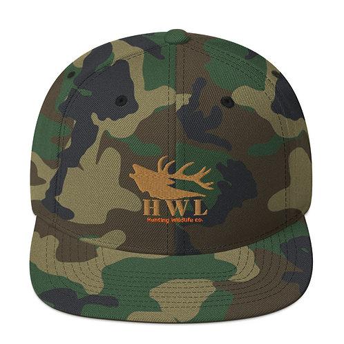 Flatbill Snapback Elk Talk