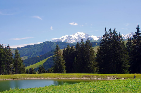 Paysage du Mont Blanc