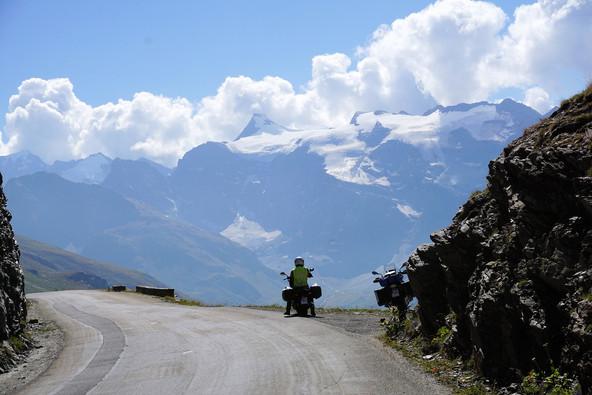 Pause dans les Alpes
