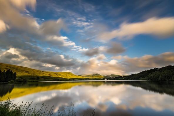 Lac de Guéry - massif du Sancy (63) Crédit photo ; © R. Coutinho/Auvergne-Rhône-Alpes Tourisme