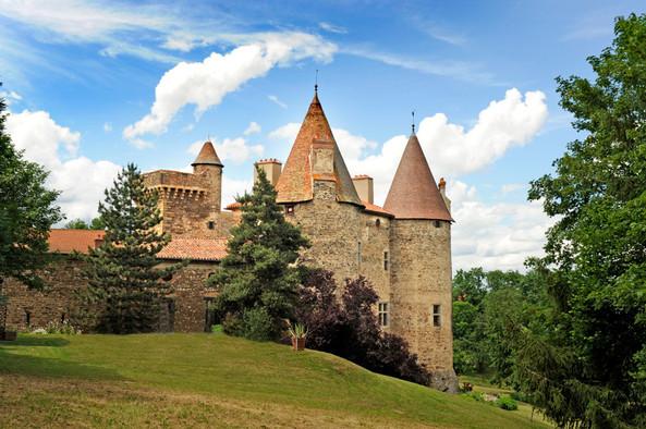 Château de Lespinasse, Saint-Beauzire (43) Crédit photo : © J. Damase/Auvergne-Rhône-Alpes Tourisme