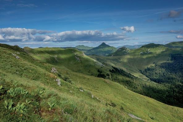 Les monts du Cantal et le Puy Mary (15) Crédit photo ; © P. Soissons/Auvergne-Rhône-Alpes Tourisme