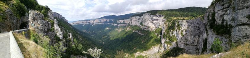 Panorama sur le Vercors
