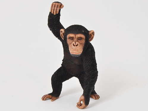 Statue - Chimpanzé debout - FAUNE