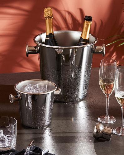 Seau à Champagne deux poignées- ALESSI