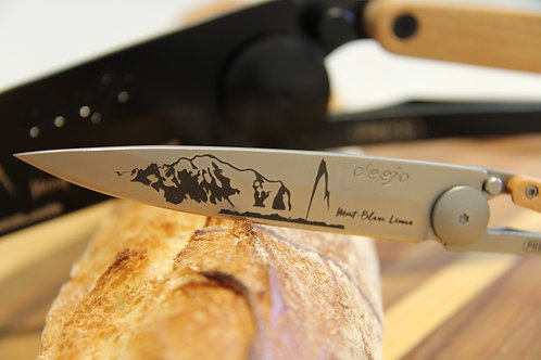 Mont Blanc Léman -Couteau Poche - Deejo
