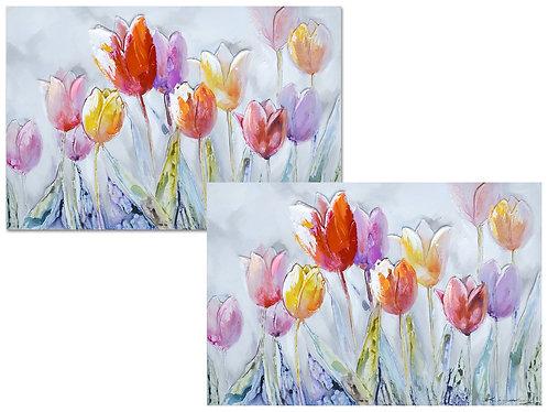 Tableau - Tulipes 120x80cm