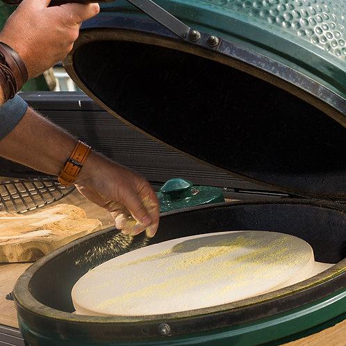 Big Green Egg - Pierre de cuisson plate