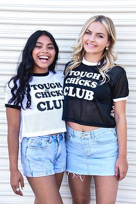 Tough Chicks Club - Crop Top Jersey