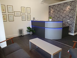 Reception and waiting area of Always Ear