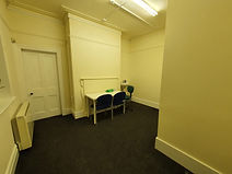 hearing aid repair and wax removal room