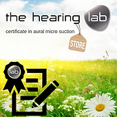 Certified By The Hearing Lab Store logo.