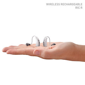 Muse rechargeable hearing aid image