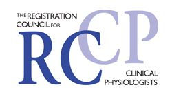RCCP logo - the registration council for clinical physiologists