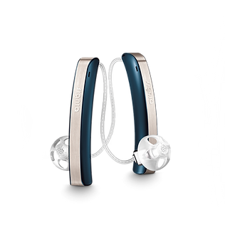 Styletto image receiver in the canal hearing aid