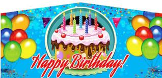 Candle Happy Birthday #014