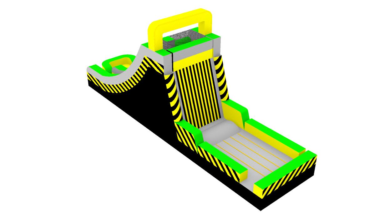 Sticky Wall Slide-Caution---Lambert Bounce-1