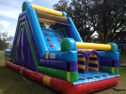 30ft rock n climb obstacle course rental