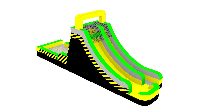 Sticky Wall Slide-Caution---Lambert Bounce-2