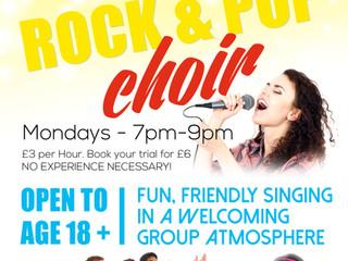 Join our ROCK & POP choir!