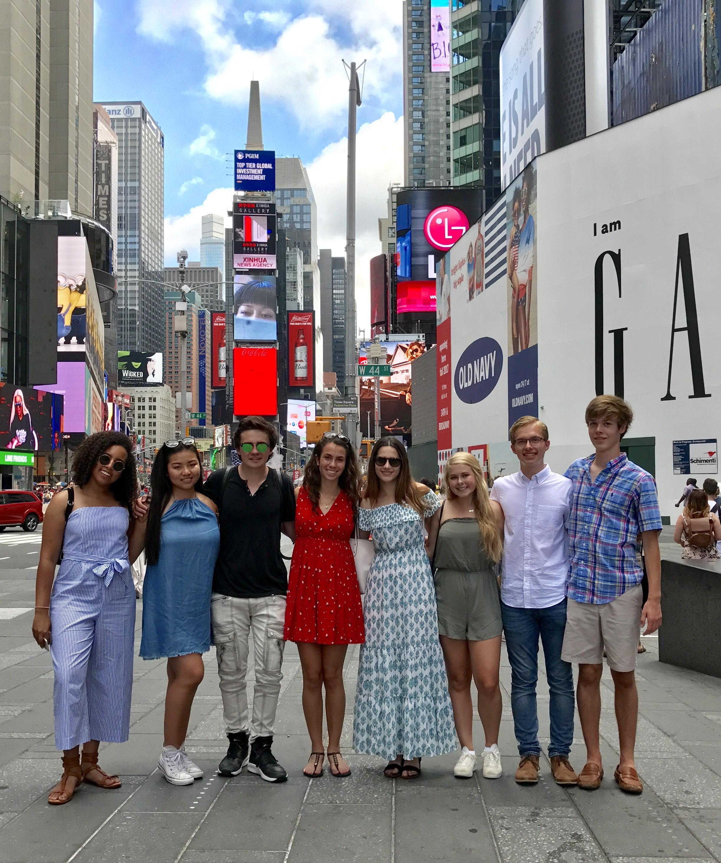 Washingtonians in New York