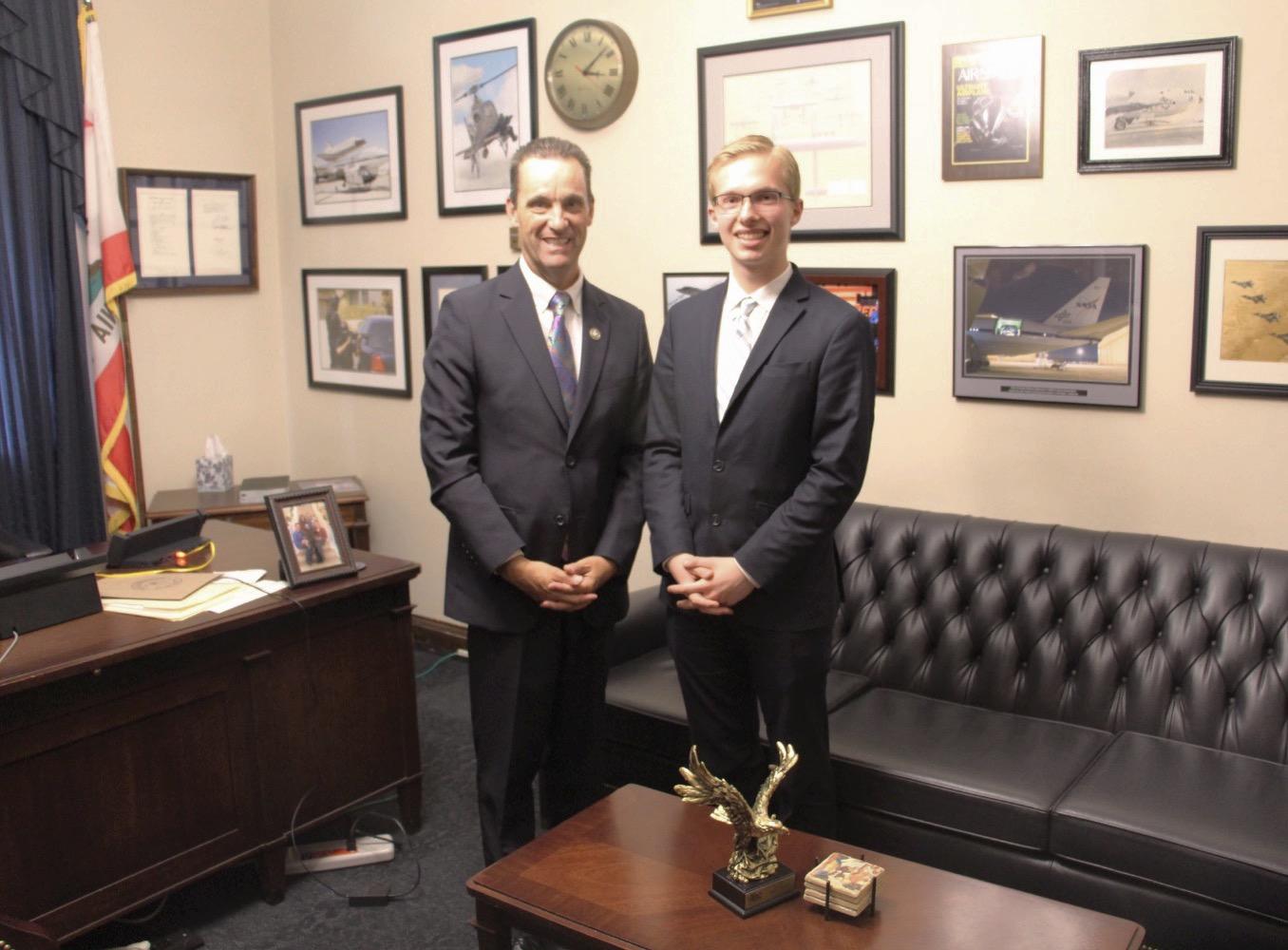 The Congressman and Noah