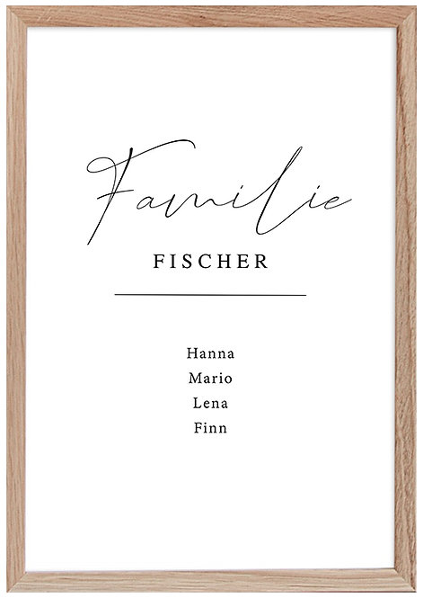 Familie - Fischer