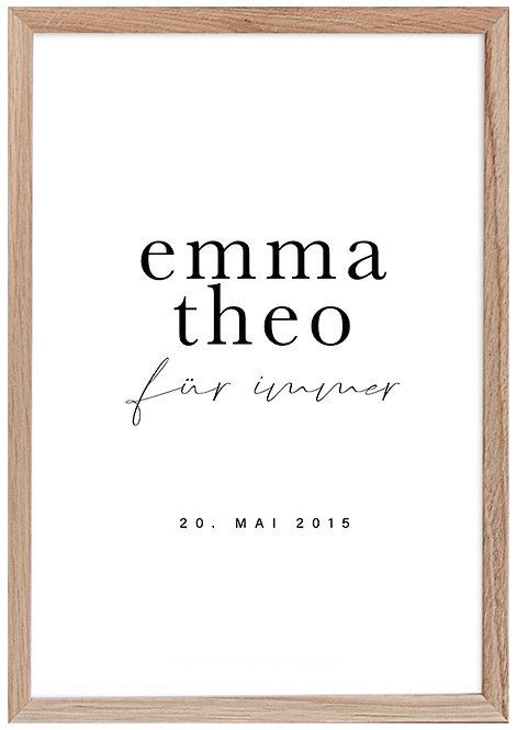 Emma & Theo für immer