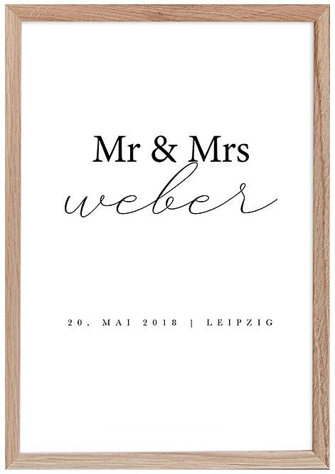 Mr & Mrs Weber