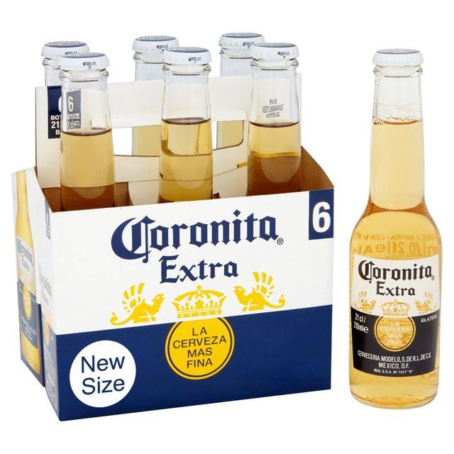 Cerveza Corona por alibaba.com