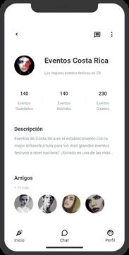 perfil de organizadores de eventos